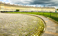 View of the Royal Crescent, Bath