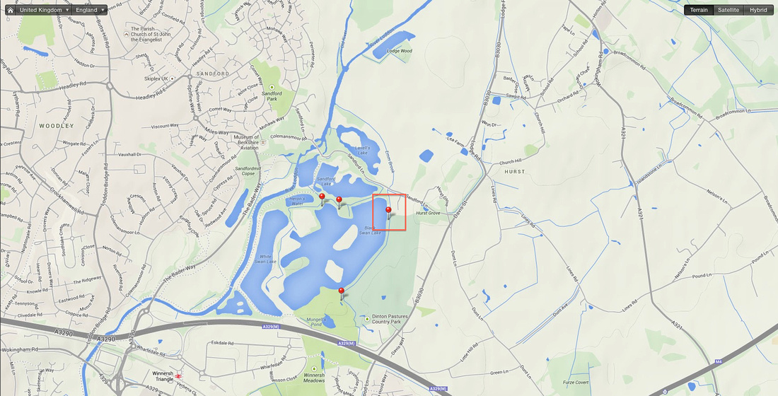"GeoTagged, ""Dinton Pastures"", Berkshire, Bracknell, Hurst, Wokingham, Reading"