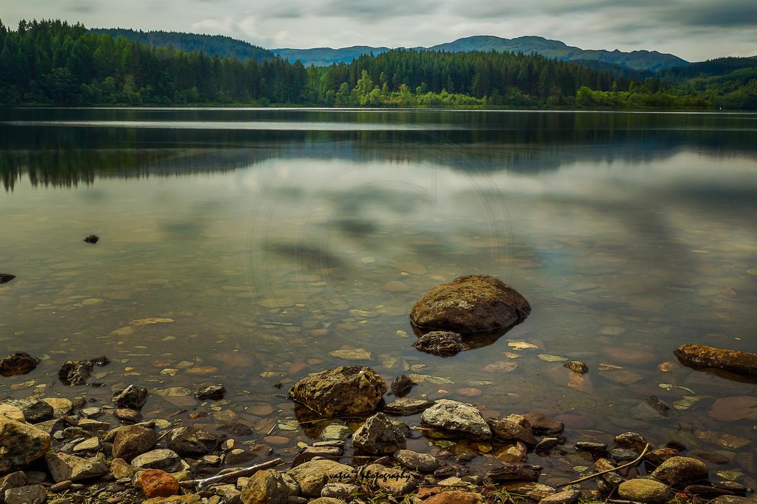 """Loch Ard"", ""10 Stop ND filter"", Serene, Tranquil, Aberfoyle, ""Loch Ard"", ""Loch Lomond and the Trossachs National Park"", ""Scenic Route"", Scotland, Kinlochard"